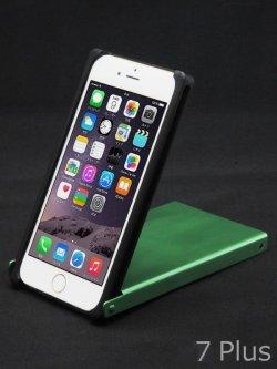 画像2: for iPhone7+/6s+/6+ アルマイト【緑色】Trick Cover